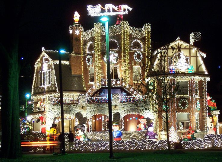 some may call this going overboard on the holiday lights but we call it going overboard on holiday lights - Local Christmas Lights Displays