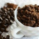 Homemade Coffee Body Scrub - I don't need an excuse to rub coffee all over my body