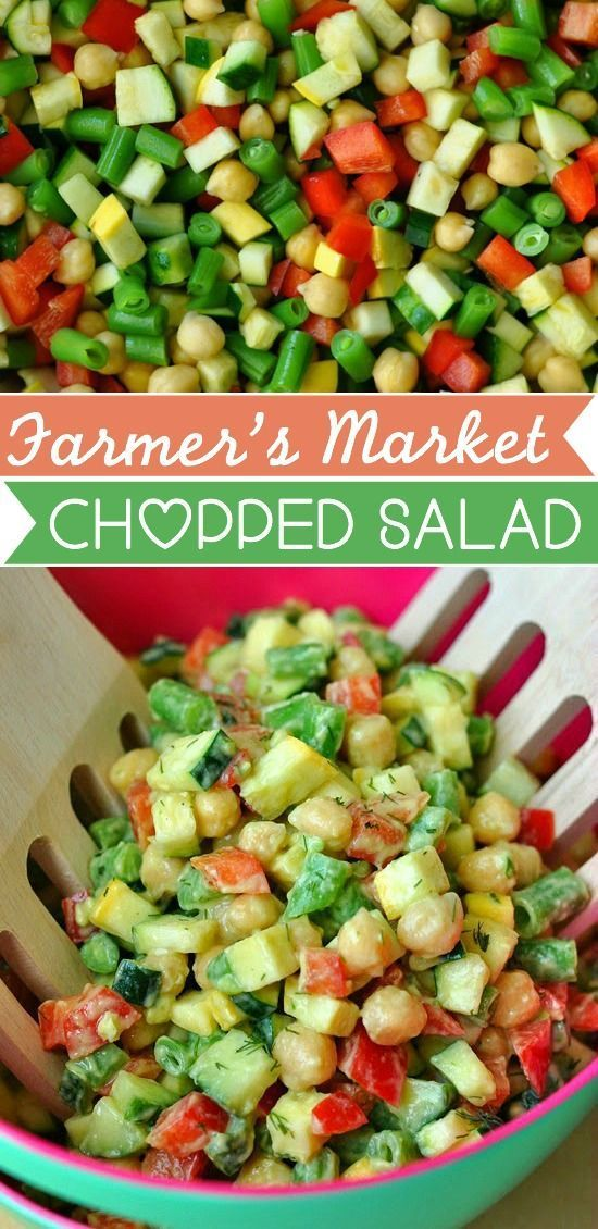Check out Farmer's Market Chopped Salad with Creamy ...