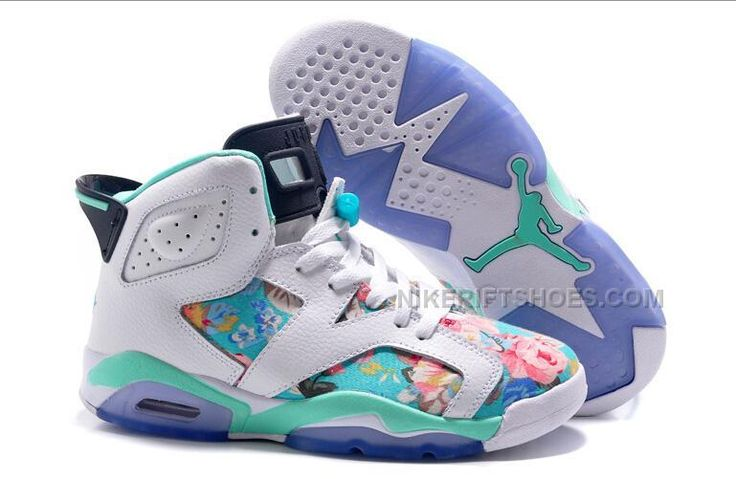 http://www.nikeriftshoes.com/2015-spring-latest-nike-air-jordan-6-flower-womens-shoes-white-green-sky-blue-sneakers-outlet.html 2015 SPRING LATEST NIKE AIR JORDAN 6 FLOWER WOMENS SHOES WHITE GREEN SKY BLUE SNEAKERS OUTLET Only $99.00 , Free Shipping!