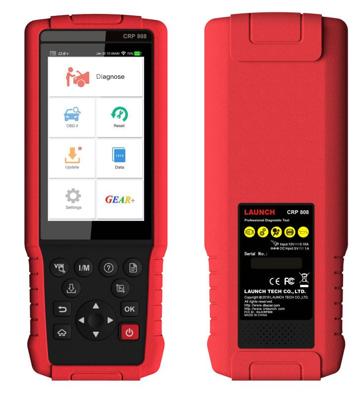 Launch Crp808 Hand Held Launch Easydiag 4 0 Customize For American Euro Asia Cars Skype Eobdtool02 Whatsapp Car Diagnostic Tool Car Scanner Diagnostic Tool