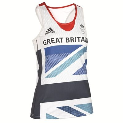 Adidas Team GB Running Shimmel - I want this top so bad but it's sold out! Hope Adidas make more for the Paralympics pretty please!!!!