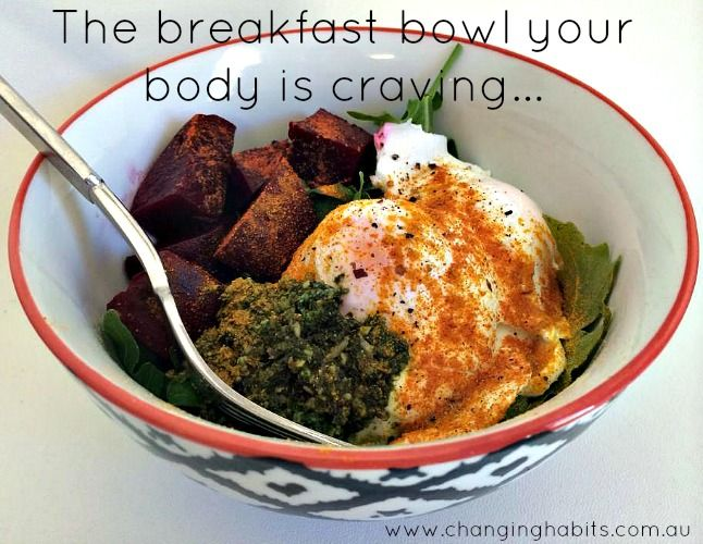 Exactly what the photo says; the breakfast bowl your body is craving...