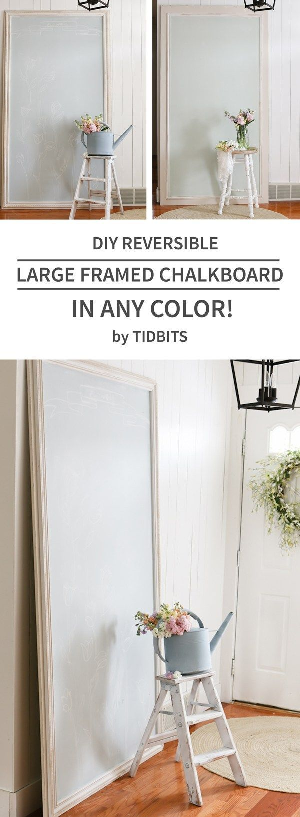 Best 25+ Large framed chalkboard ideas on Pinterest