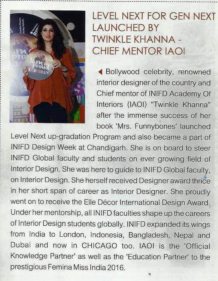 74 best inifd gandhinagar fashion textiles interior for Interior designs by twinkle khanna