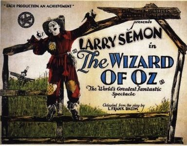 The Wizard of Oz (1925) - Available for viewing on my YouTube Channel KICK IT STINKY!