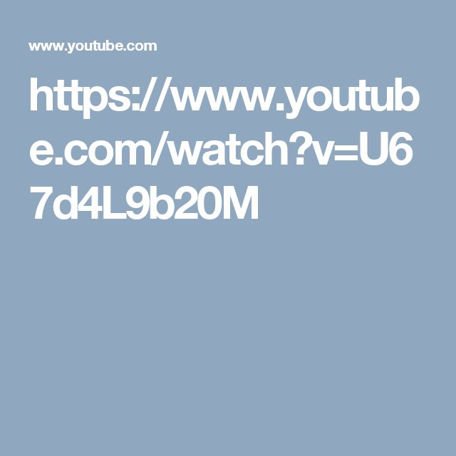 https://www.youtube.com/watch?v=U67d4L9b20M