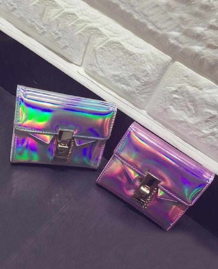 Hologram Mini Wallet