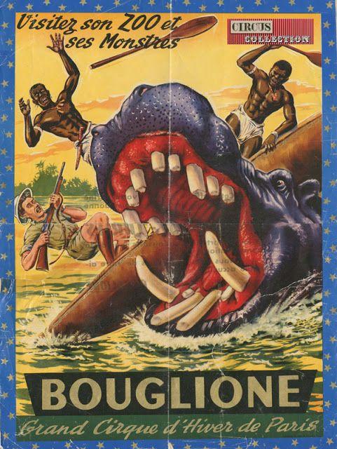 Circus collection: Cirque Bouglione 1957