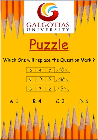 Does mathematics intrigues you? Here's something to stir your brain Galgotians