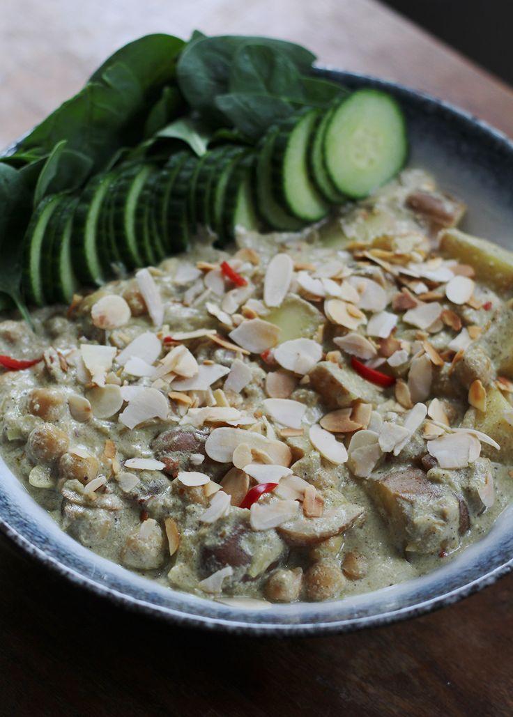 Kip korma, maar dan veganistisch - het kan en het is nog heel erg makkelijk en lekker ook!