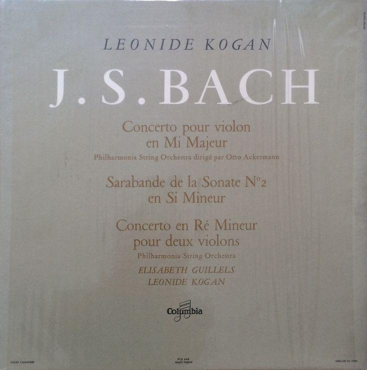Leonide Kogan - J.S.BACH