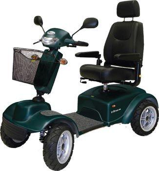 Ultimo arrivato…ma è già il più grande. Lo scooter elettrico per disabili Titan Mediland e'dotato di sospensioni attive ed indipendenti sulle singole ruote, barra di torsione per terreni sconnessi, motore con potenza massima di ben 2200Win grado di sviluppare una velocità massima di 17 Km/h (con pulsante auto-limitatore a 6Km/h), centralina da 160 A, cerchi […]