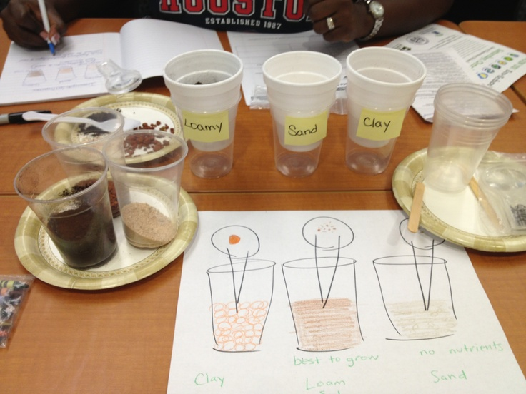 Investigate soil properties rocks soil pinterest labs for Soil 7th grade