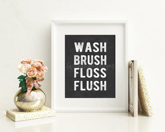 Girls Bathroom Decor: 1000+ Ideas About Bathroom Rules On Pinterest