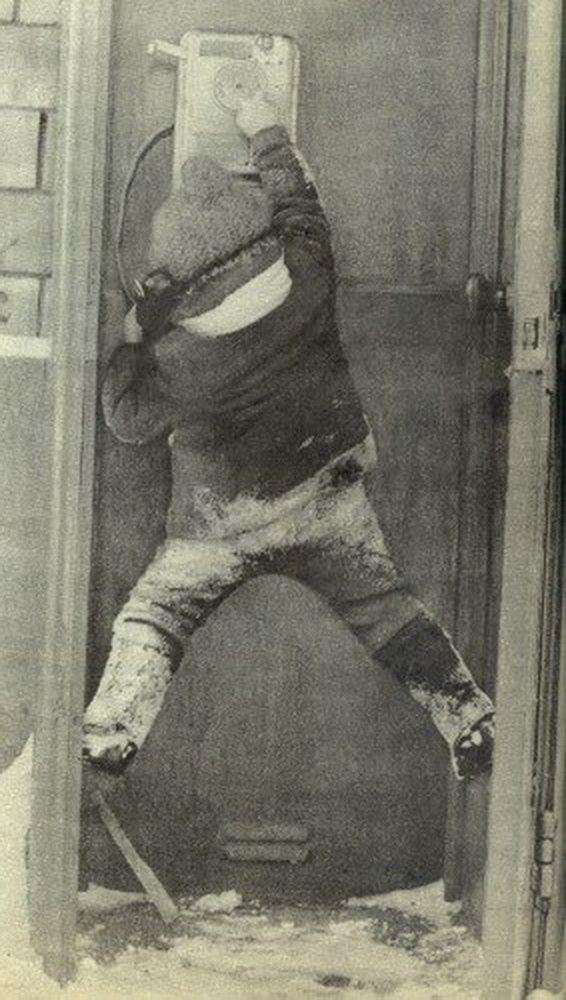 Звонок маме на работу... 1970-е.