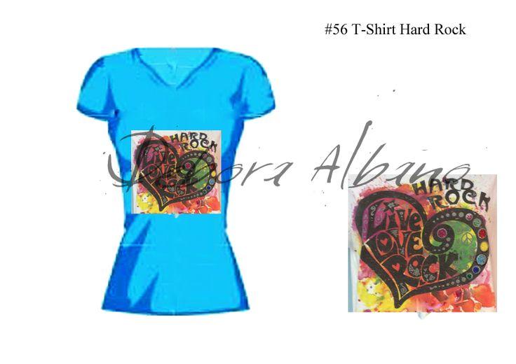 #56 T-Shirt Hard Rock Progetto