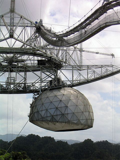 Arecibo Observatory- the world's largest single-dish radio telescope. The Observatory is recognized as one of the most important national centers for research in radio astronomy, planetary radar and terrestrial aeronomy.