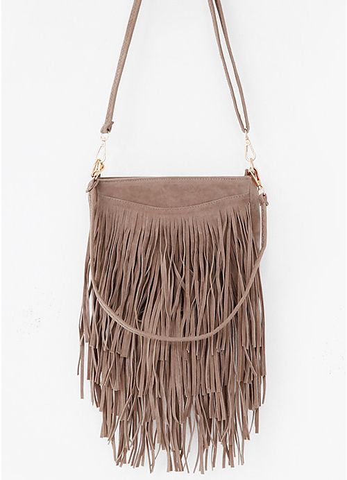 Tiered Daily Fringe Bag
