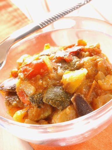 Ratatouille provençale - Recette de cuisine Marmiton : une recette
