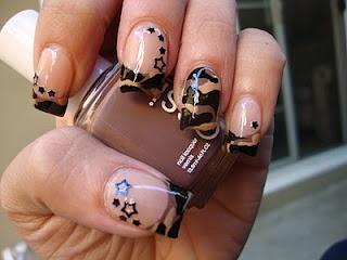 More camo nail designs!