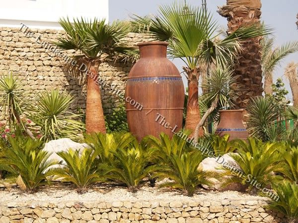 Landscaping And Garden Design Ideas For Tropical And Mediterranean  Container Gardens.