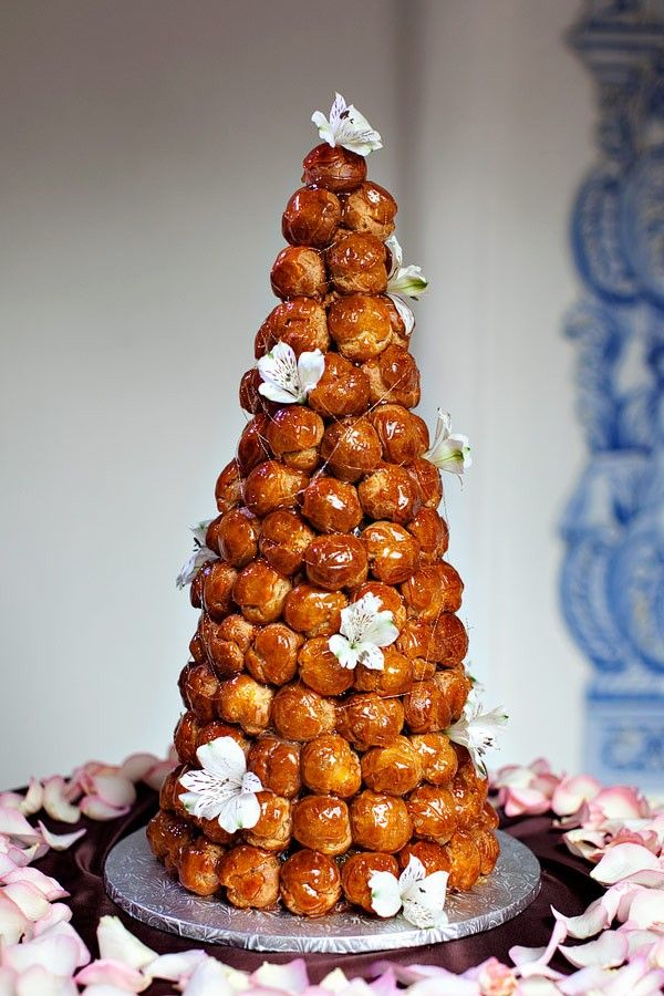 French Fruit Wedding Cake Croquembouche Photo Inspirations Picture in Wedding Cake