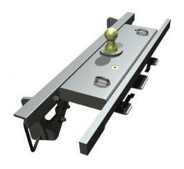 BW1309 --- B&W 30K Underbed Turnover Gooseneck Trailer Hitch - Dodge
