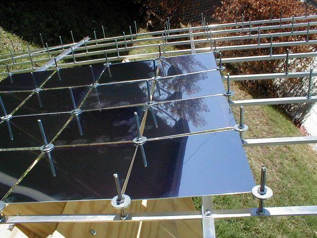Multifacet Parabolic Solar Concentrator | Solar instalation