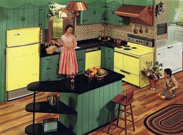 Hotpoint Appliance 1960 Island Peninsula Inspiration