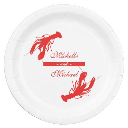 Personalized Crawfish Boil Event Plates. Crawfish SeasonPaper Plates  sc 1 st  Pinterest & 60 best Crawfish Season images on Pinterest | Crawfish season ...