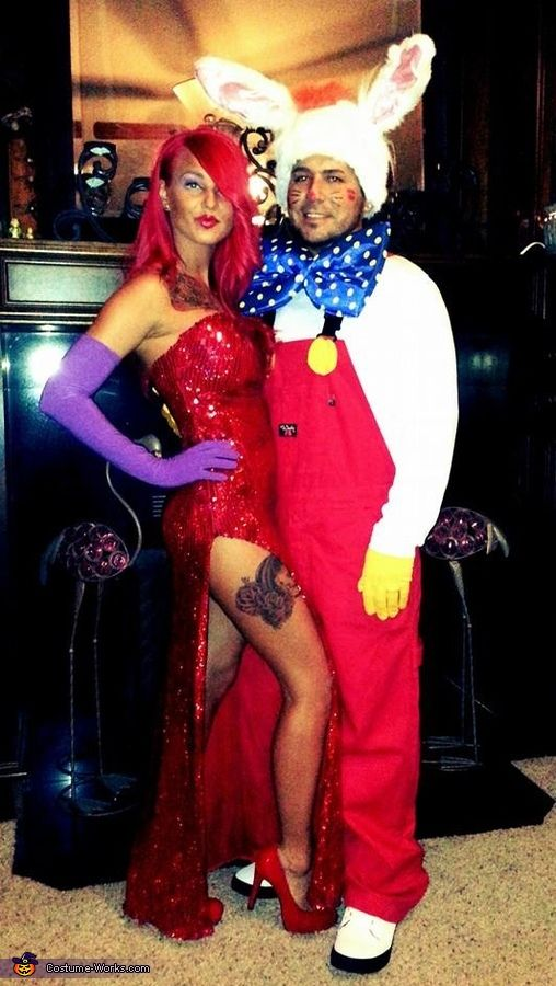 Jessica And Roger Rabbit Costume Halloween Costumes
