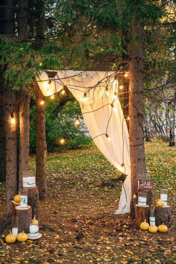 Осенняя романтика. Уютная свадьба Полины и Андрея. Autumn wood romance сozy wedding