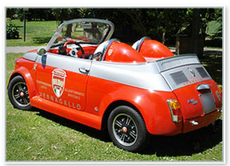FIAT 500 SPEEDSTER by VERNAGALLO COMPANY- Customized and RESTORATION-