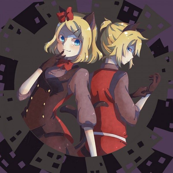 Phantom Thieves Peter And Jenny Vocaloid Rin And Len