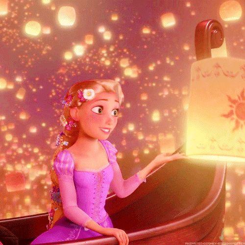 Disney GIF. Rapunzel. Especially for Miss C.