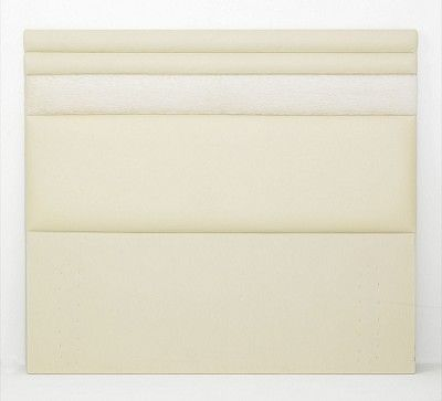 Wholesale Emeral All Sizes Headboards are covered in a luxurious linen effect fabric or Leather and features stitched detail. It is available in White, Black, Brown, Cream Red Pink & Blue Colors. Available in Single, Double, King & Super King Sizes.