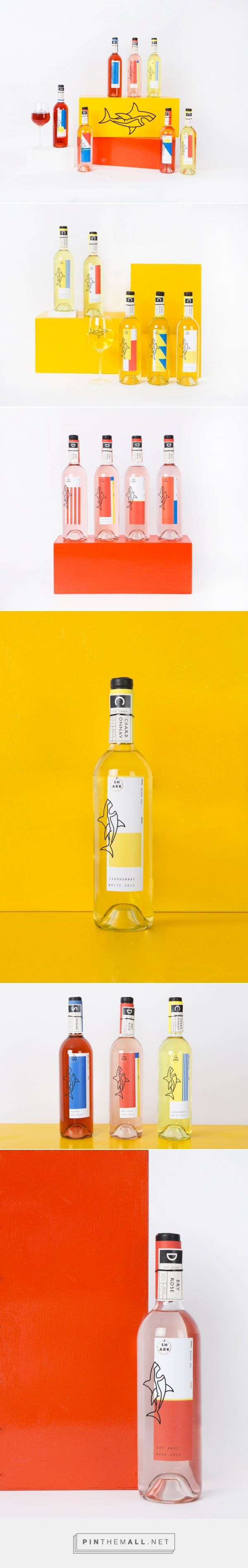 The Shark Wine Packaging by Ahra Song | Fivestar Branding Agency – Design and Branding Agency & Curated Inspiration Gallery