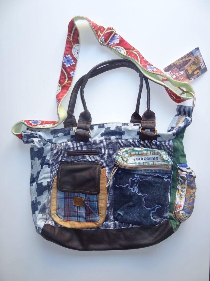 Old Cotton Cargo Bag - BAG#19 (59,- €)