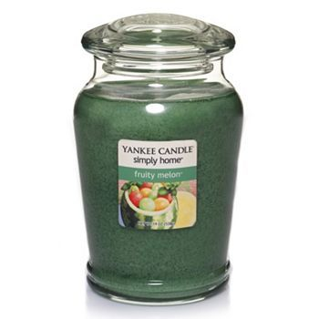 Yankee Candle simply home 19-oz. Fruity Melon Soy Jar Candle