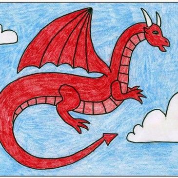 Draw a Red Dragon