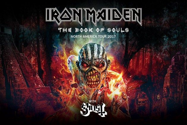 Get Your Tickets At BestSeatsFast.com For Iron Maiden - Better Seats, Better Prices! E-Tickets and Hard Tickets Available. PayPal Is Now Accepted!
