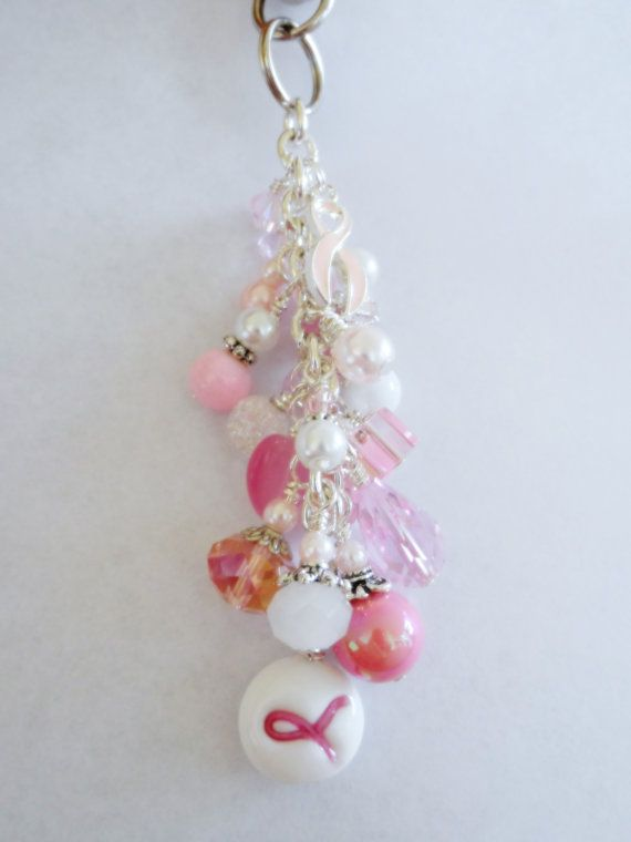 10 Discount Purse jewelry dangle breast cancer by DanglesbyDesign