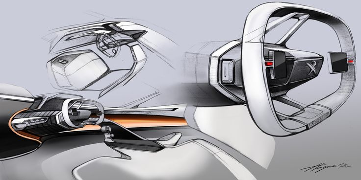 #PeugeotFractal #Peugeot #wheel  #Conceptcar #Design #draw #style