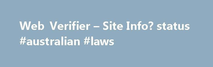 Web Verifier – Site Info? status #australian #laws http://laws.nef2.com/2017/05/03/web-verifier-site-info-status-australian-laws/  #www.law.cornell.edu # site title: LII / Legal Information Institute Headings (most frequently used words): learn, content, about, original, topics, lawyer, find, sources, resources, to, welcome, form, lii, what, search, new, primary, Text of the page (most frequently used words): the (25), and (9), #federal (8), rules (8), lii (7), for (7), legal (6), that (6)…