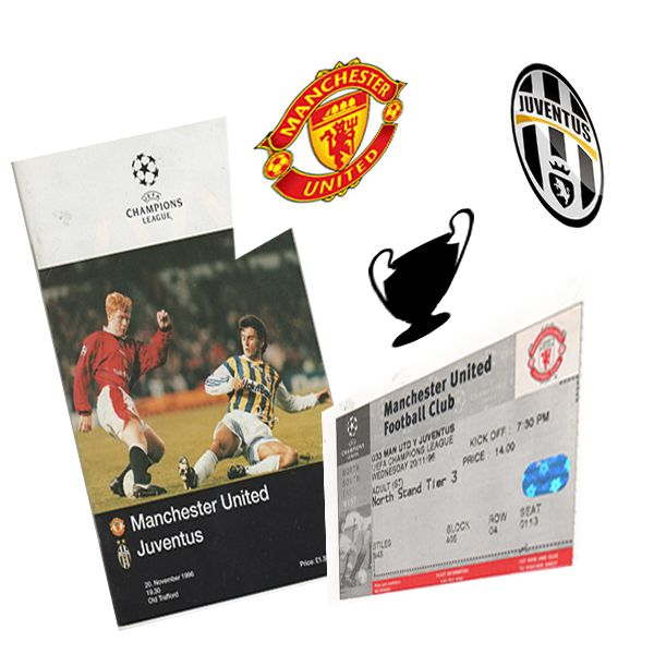 Champions League Manchester United v Juventus.