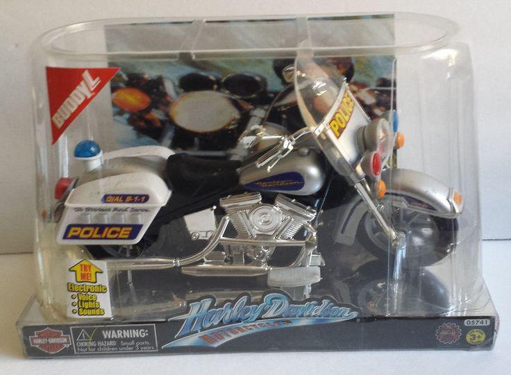 Harley Davidson Motorcycle Police Highway Patrol Lights
