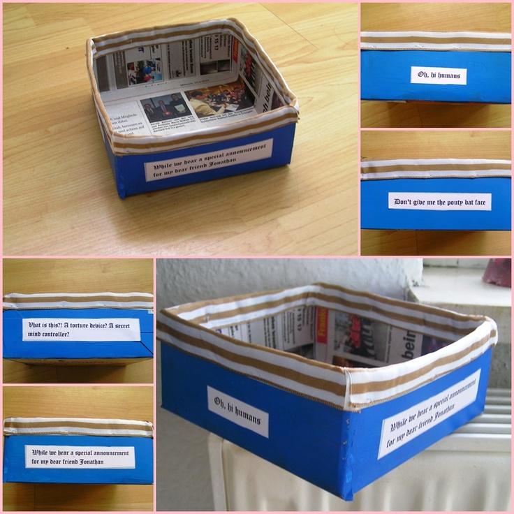 box with Hotel Transylvania quotes
