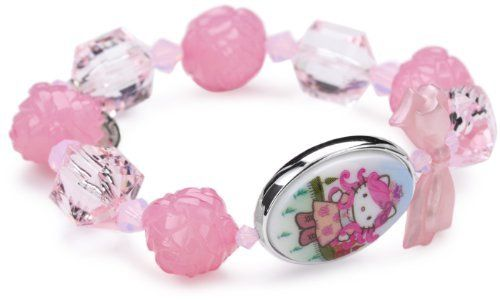 """Tarina Tarantino Hello Kitty """"Pink Head"""" Portrait St. Peters Stretch Bracelet TARINA TARANTINO. $45.00. Made in United States. Handmade in the United States. Multi beaded stretch bracelet featuring a double sided portrait Lucite cameo and Swarovski crystal detail. Made in USA. Packaged in a signature organza bag with limited edition carding"""