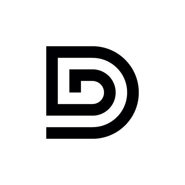 Minimal Letter D Logo Letter Logo Design Letter Logo Lettering